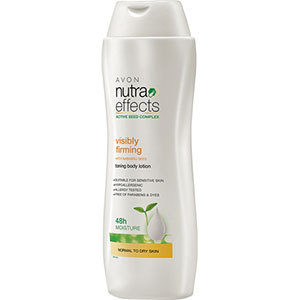 Avon nutra effects toning body lotion 150 ml