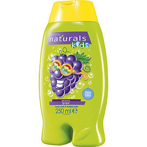 Avon Naturals Kids Groovy Grape Duschgel & Schaumbad 250 ml