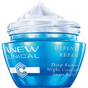 Avon ANEW Clinical Defend & Repair Intensiv regenerierende Nachtcreme 30 ml