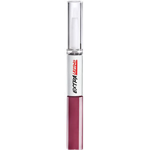 Avon Extra Lasting Plump and Stay Lippenstift  2x4 ml Plumfull