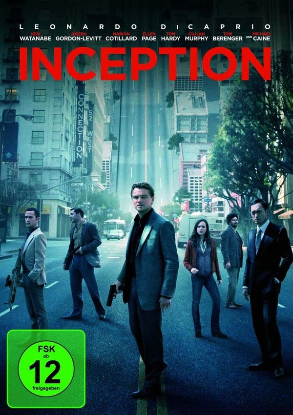 DVD - INCEPTION