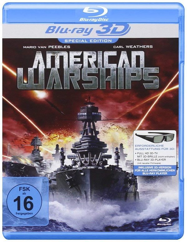 DVD -American Warships (Real 3D-Edition) (Blu-ray)
