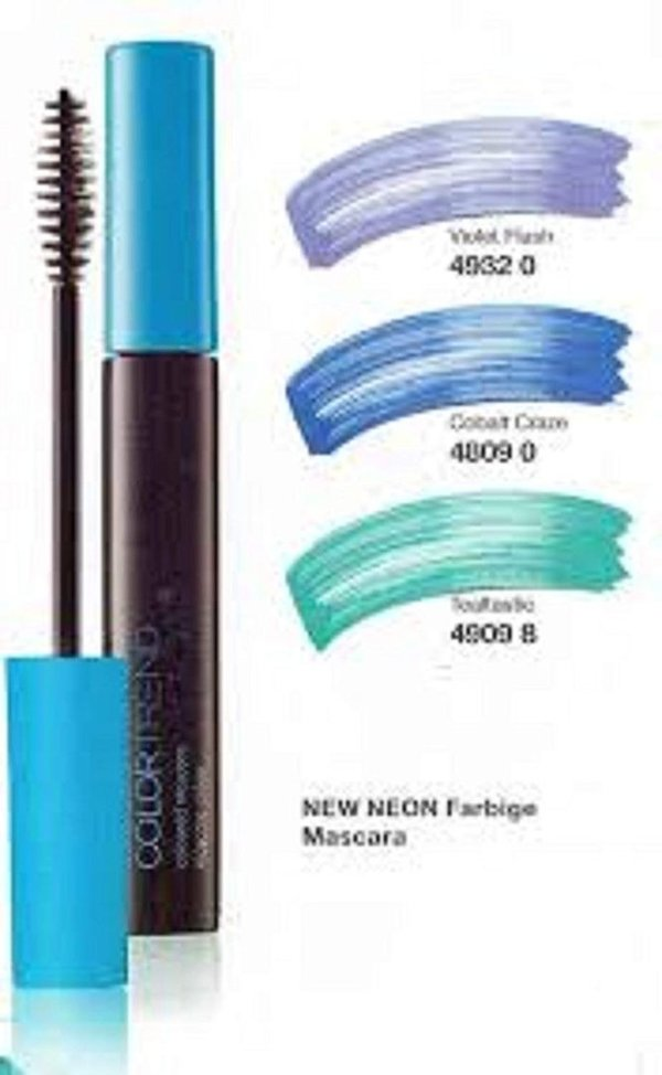 "Avon Color Trend  Farb Wimperntusche  7ml ""Cobalt GRAZE"""