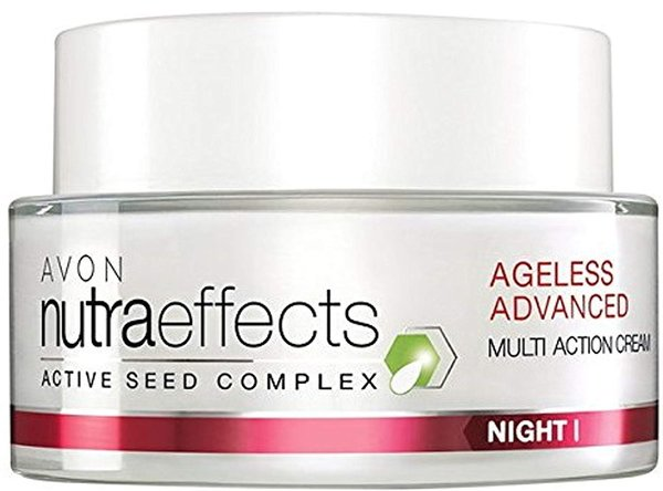 Avon Nutra effects Ageless Advanced Anti-Aging Nachtcreme 50 ml