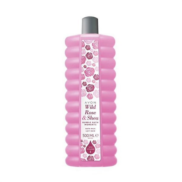 Avon Bubble Bath -  Wild Rose & Shea 500 ml