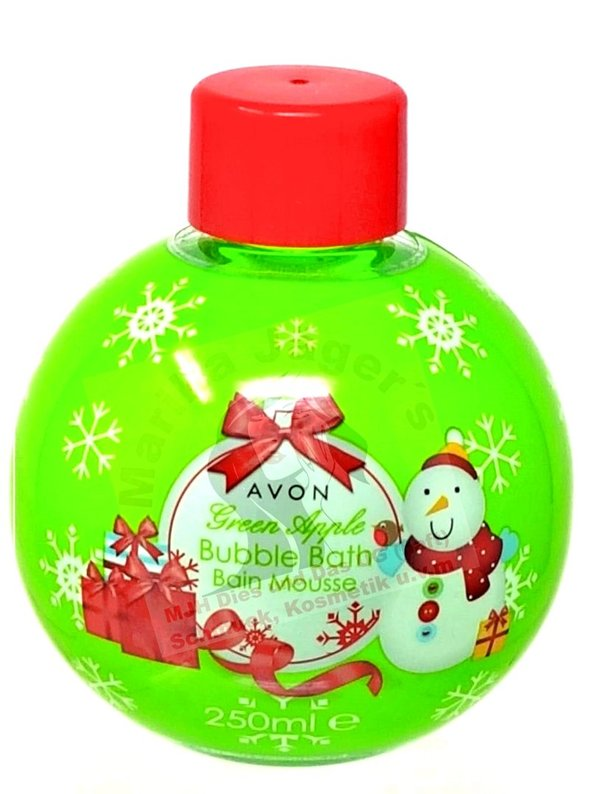Avon bubble bath Green Apple