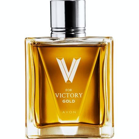 AVON V For Victory Gold Eau de Toilette 75 ml