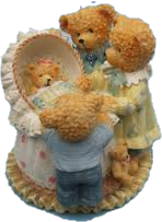 "Sammlerstücke - Avon Lovable Teddies ""Celebration Bears"""