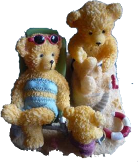 "Sammlerstücke - Avon Lovable Teddies ""Holiday Teddies"""